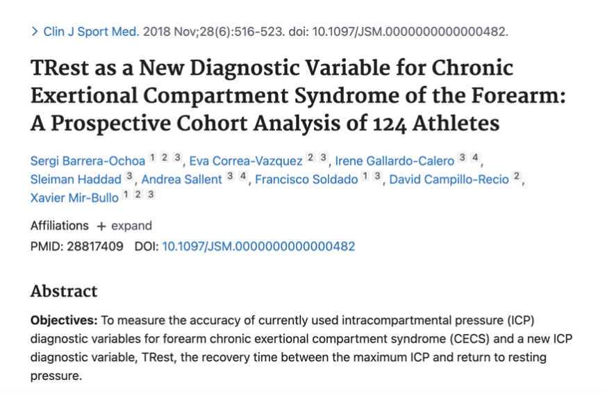 TRest as a New Diagnostic Variable for Chronic